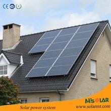 On roof Solar energy systems-1kw 2kw 3kw 5kw 10kw with battery