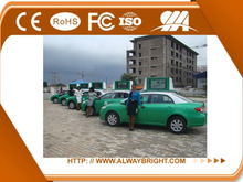 ABT Hd P5 Taxi top led display, Taxi waterproof taxi roof light/taxi advertising signs, car/taxi top video LED display