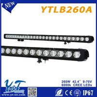 used s japan New arrival 42.5inch 260w led work light driving light led spot light avoid accident car