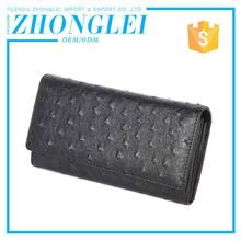 Custom Logo Compared Clip Long Flat Wallets Ladies