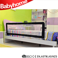 safety collapsible baby bed rail