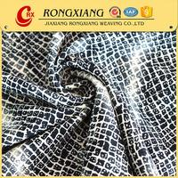 Latest design Wholesale blackout crepe 100 recycled polyester fabric