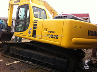 used japan excavator pc220, used construction machinery for sale