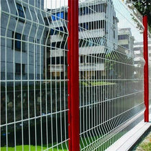 pvc coated Dirickx welded wire mesh fence(factory)