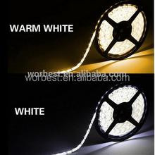 New fashion decorative strip light warm white 3528 30 LEDs/m 5m/rell warm white/cool white led strip