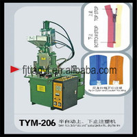 Semi auto Plastic Injection Molding Machine for Zippers