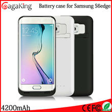 5v rechargeable charger battery For samsung s6 edge 4200mah Portable power bank