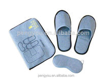 popular various design personalized high quality airline mask slipper