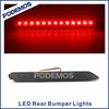 Car rear led tail light brake lamps modified led car lights car led tuning lights for Toyota Innova 2014~ON