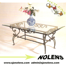 China Tea Table,/Glass Table Restoring Ancient Ways /Metal Frame And Glass Top Coffee Table