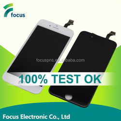 Guangzhou mobil phone accessories for iphone 6 lcd display touch screen digitizer