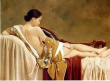 Handmade nude female body paintingWholesale price