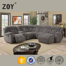 Zoy Modern Fabric Round Corner Sofa Funetional,very Comfortable Sectional sofa,5 Seater Sofa Set 98670