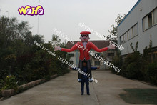 New design inflatable cartoon , inflatable moving cartoon for advertising