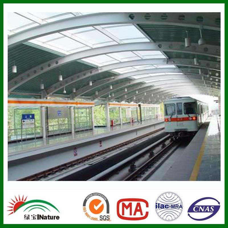 station skylight polycarbonate sheet