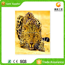 Suizhan High Quality Wild Animal Crystal Oil Painting On Canvas Wall Art