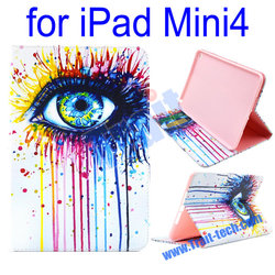 China leather case/ Wallet style leather case for iPad Mini4/ Fashion leather case supplier & exporter