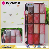 IVYMAX factory wholesale hot selling 3D blank sublimation mobile cover for iphone 6 phone case
