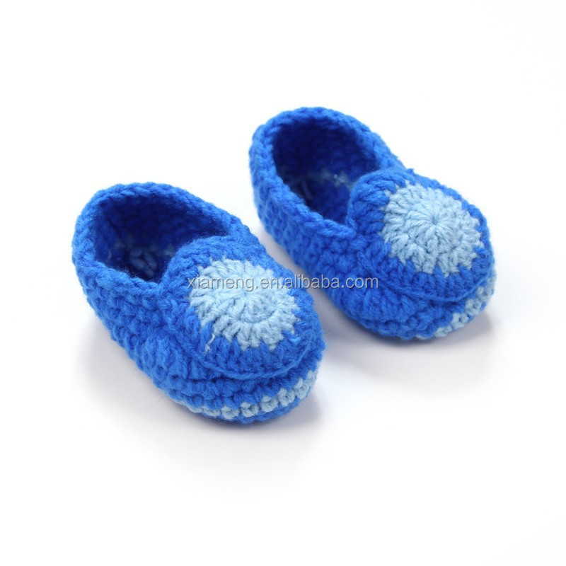 Fashion Crochet Baby Shoes Infant Toddler Newborn Shoes