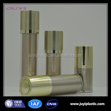 Rotary Acrylic cosmetic container packaging colorful 15ml 30ml 50ml airless pump bottles containers