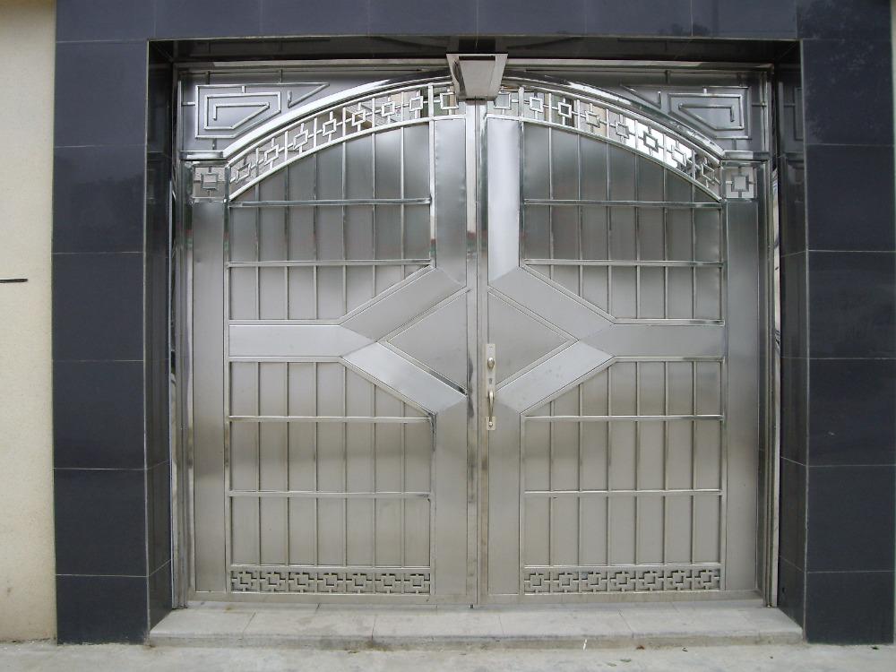 Best quality stainless steel door design view steel door for Quality door design
