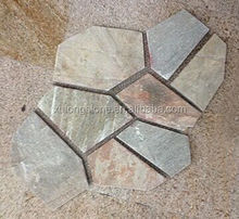 Rusty slate paving stone from China