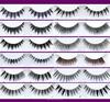 new design Synthetic hair knotting false eyelashes
