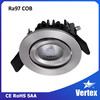 High quality Vertex Home Lighting series recessed 10w cob led downlight