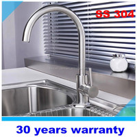 30 years warranty Stainless steel 304 kitchen faucet tap