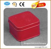 Square tin can, square tin, square metal tin