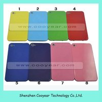 for iphone 4 4G Replacement color Rear Panel Back Glass Housing Case with no logo