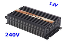1500W Pure Sine Wave Inverter DC 12V AC 240V solar/wind/car/battery power supply