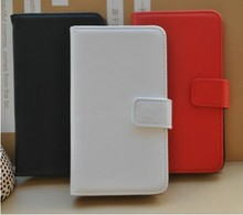 For Vodafone Smart A65 Mix Colors Book Style Side Flip Leather Wallet Case Cover