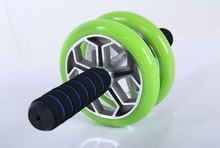 2015 new Abdominal Machine gym fit use Ab Carver Pro Aluminum AB and leg coaster roller wheel