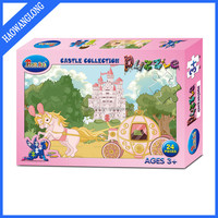 promotional children intelligence paper jigsaw board game toy puzzle maker