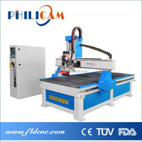 Cylinder automatic tool change cnc router/ATC CNC Router 1300x2500/1200x2400/1500x3000mm