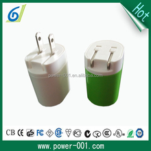 newest us folding plug charger factory wholesale mobile phone charger