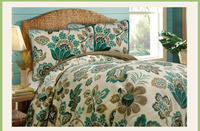 linen thread customized bed comforters with pillow shell