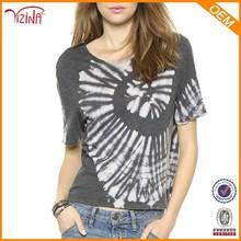 sueltas impreso camisetas de fabricantes en china para venta al por mayor ropa hippie