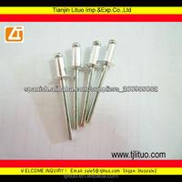High quality open dome head aluminium blind rivets