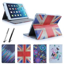 New Fashion Design Soft PU leather Magnetic Filp Stand Case Cover For ipad