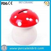 Ceramic mushroom money box Cheap Door Gift