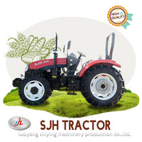 SJH 80HP 4WD farm agriculture tractor cheap for sale