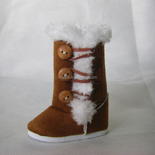 wholesale American girl winter doll boots BJD doll shoes SD doll shoes