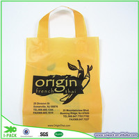 Shenzhen I-PACK factory produce plastic shopping bags for sale