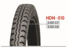 Motorcycle Tire HDN010, 3.00-17, 3.00-18
