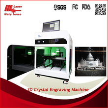 3D crystal print machine for hot photo with high tech from HOLY LASER