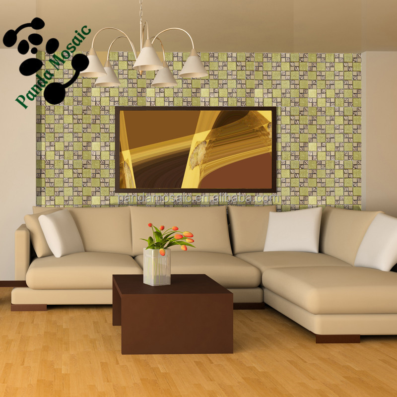 Smj06 mosaico telha da parede quadros decorativos para for Pisos decorativos para interiores