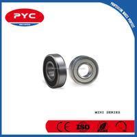 PYC Minature Bearing Manufacturer Supply High Precision Miniature Ball Bearing 3x7x2.5 uk