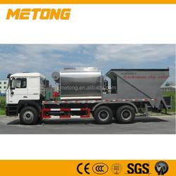 6x4 SHACMAN 6 CBM asphalt tank synchronous chip sealer